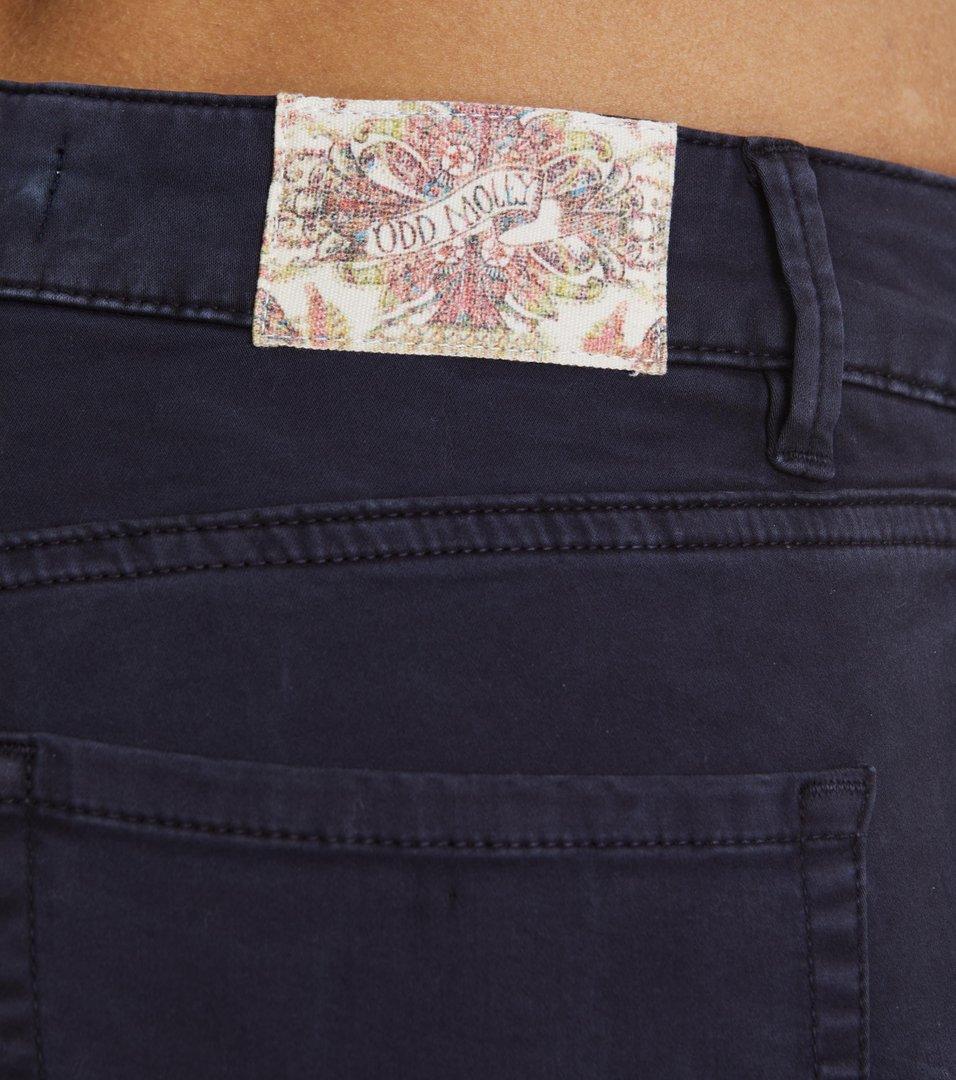 Stretch Blueblack 7/8-Jeans