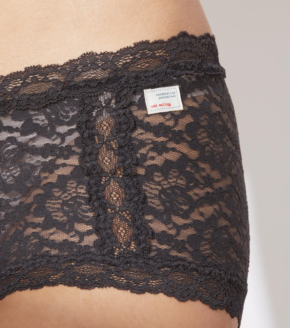 lace oddity hot pants