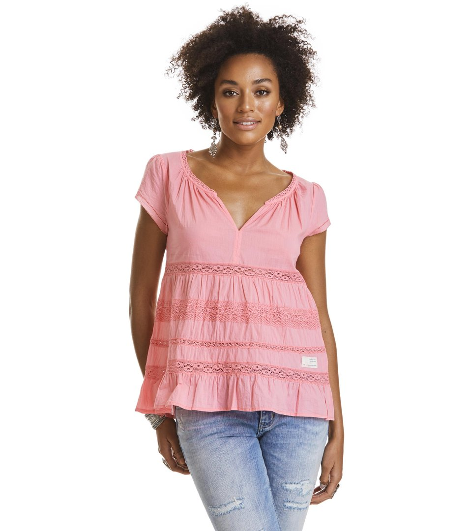 coral s/s blouse