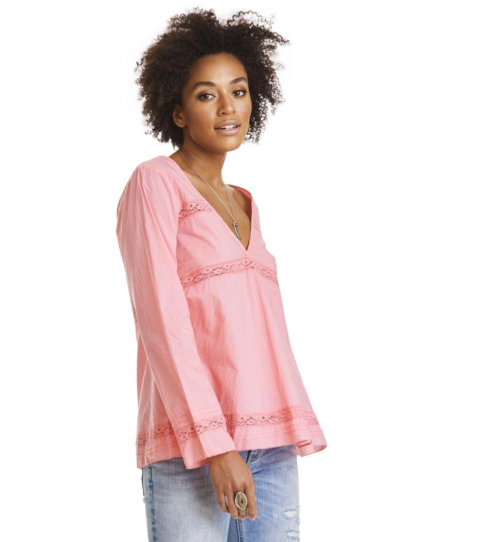 coral l/s blouse