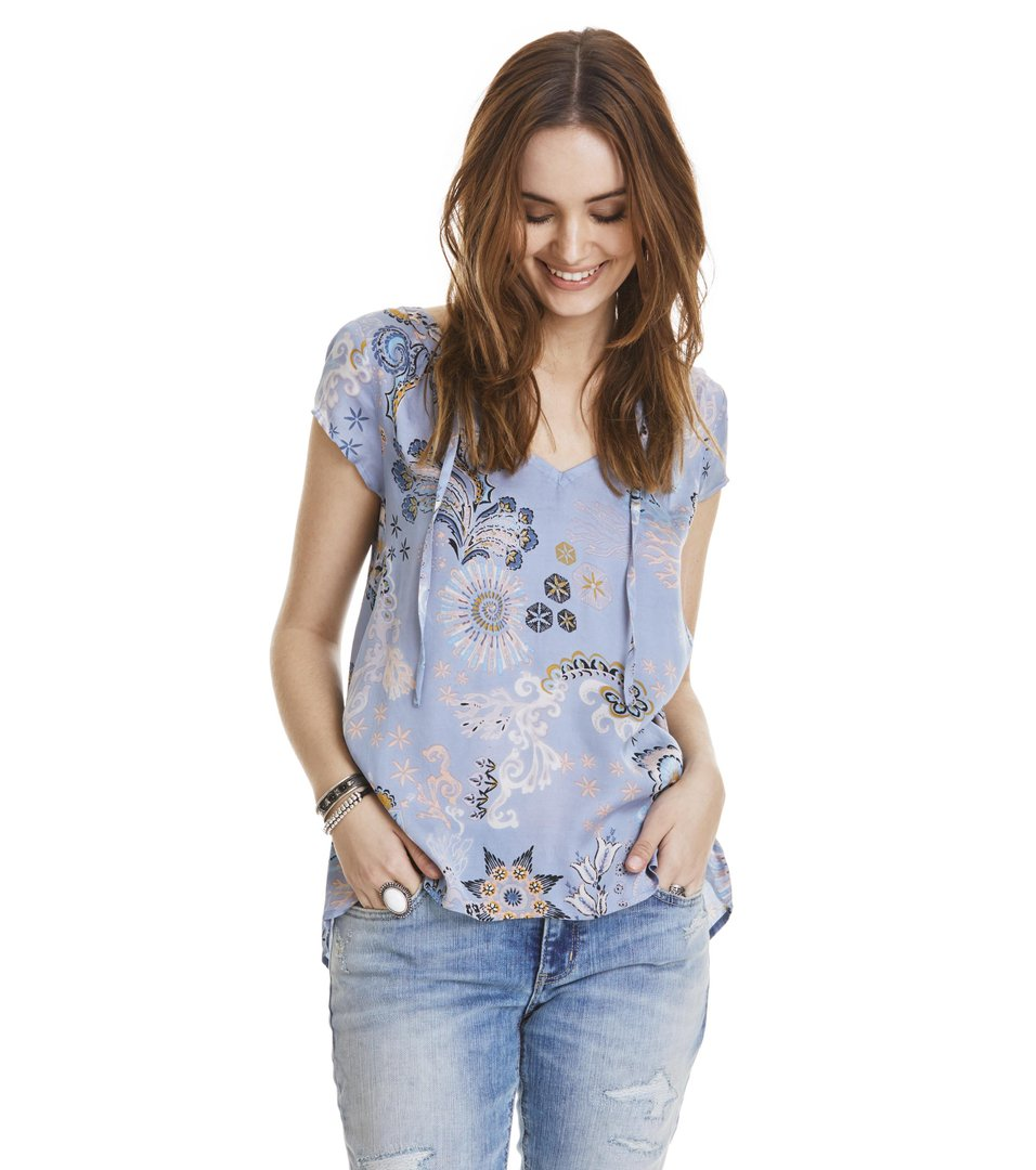 under the sea s/s blouse