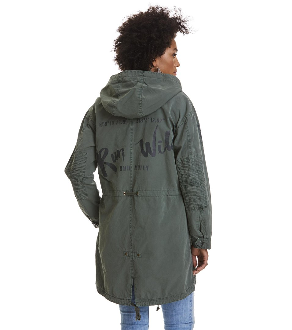 time to feel free parka