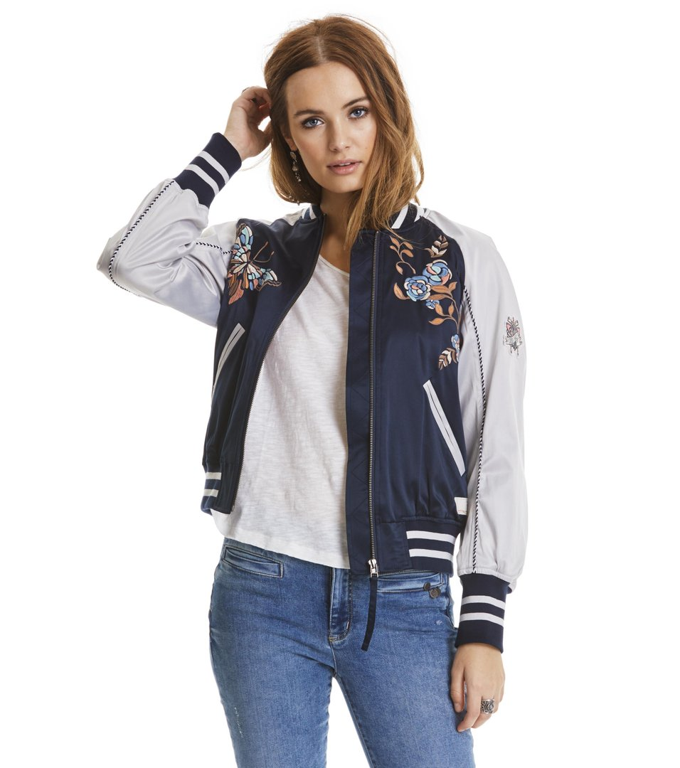 Playful Bomber Jacket