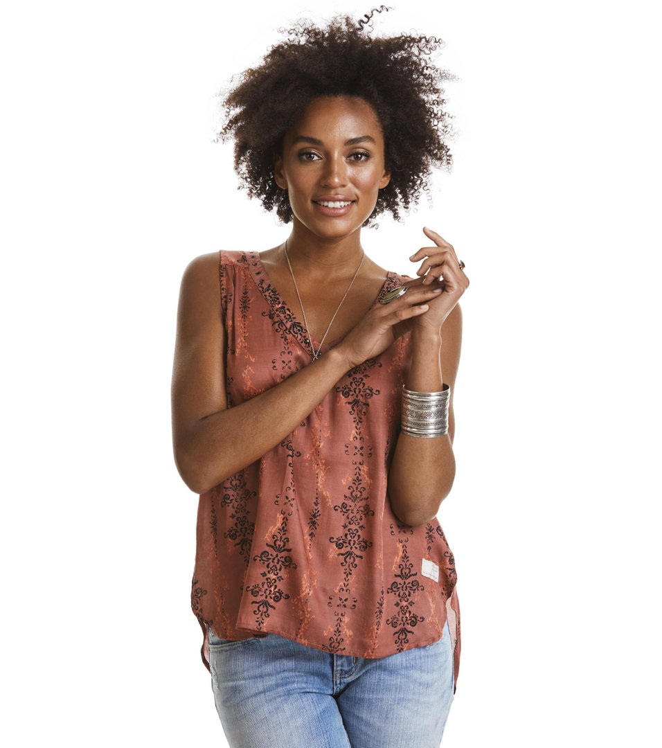 Dusty Desert S/l Blouse