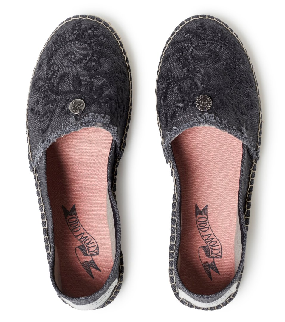 Oddspadrillos Embroidered