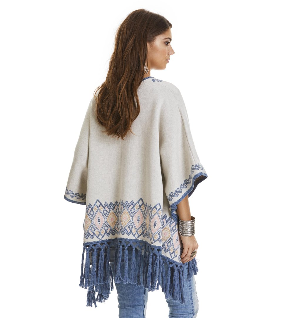 Tropical Heat Poncho