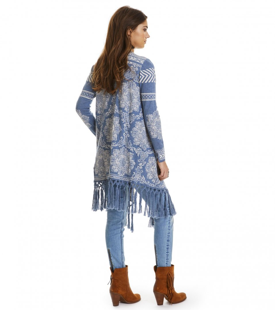 Buzzard Long Cardigan