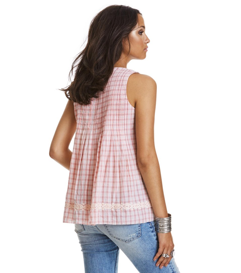 Fin-Tastic Sleeveless Blouse