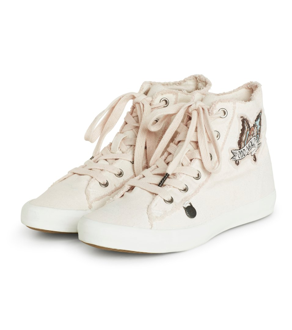 Butterfly High Sneakers