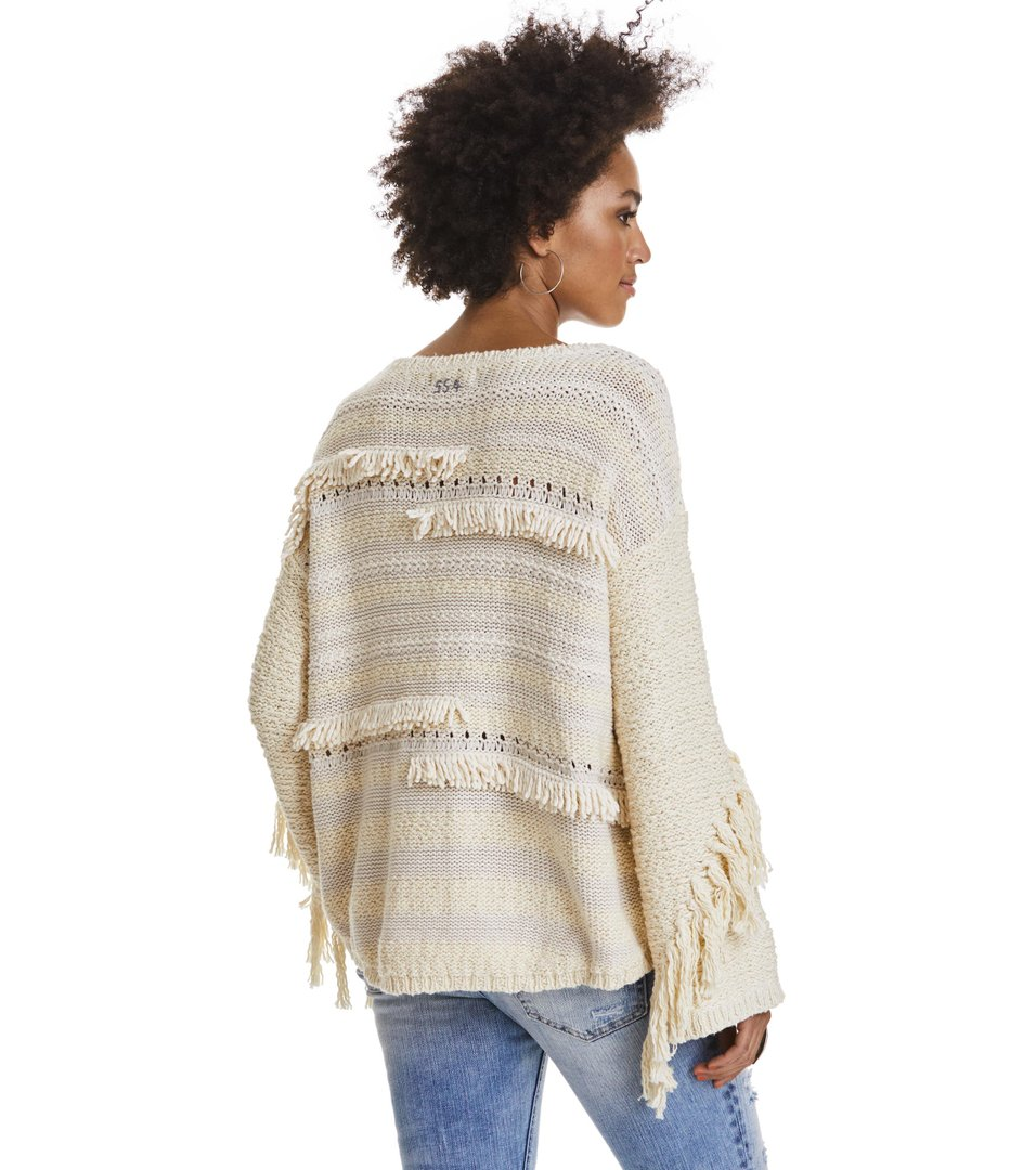 Seashell Sounds Sweater