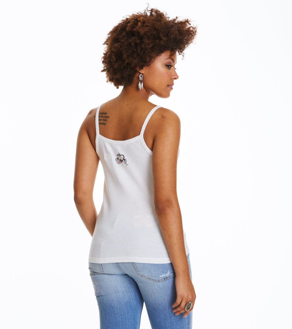 Drop Needle Tank Top