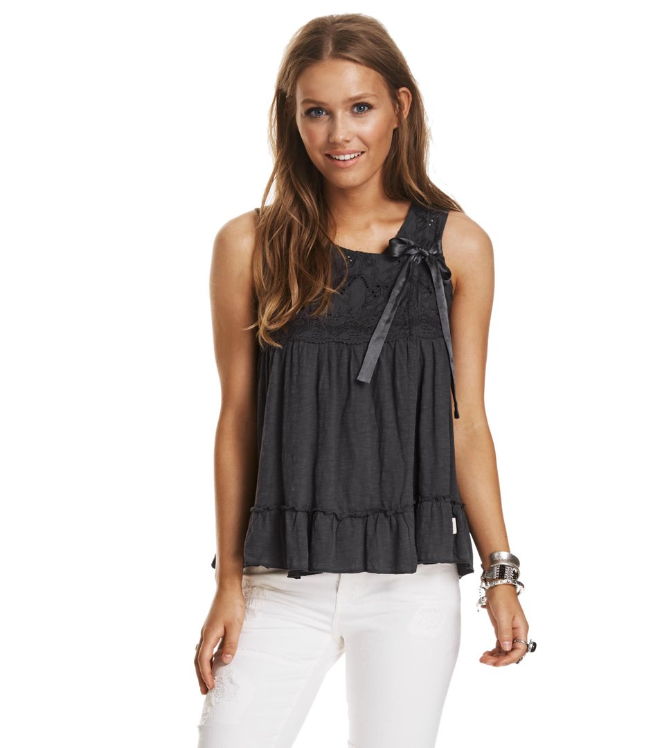 Summer Night Sleeveless Blouse