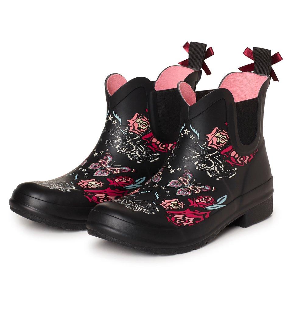 Rubber Rose Rainboot