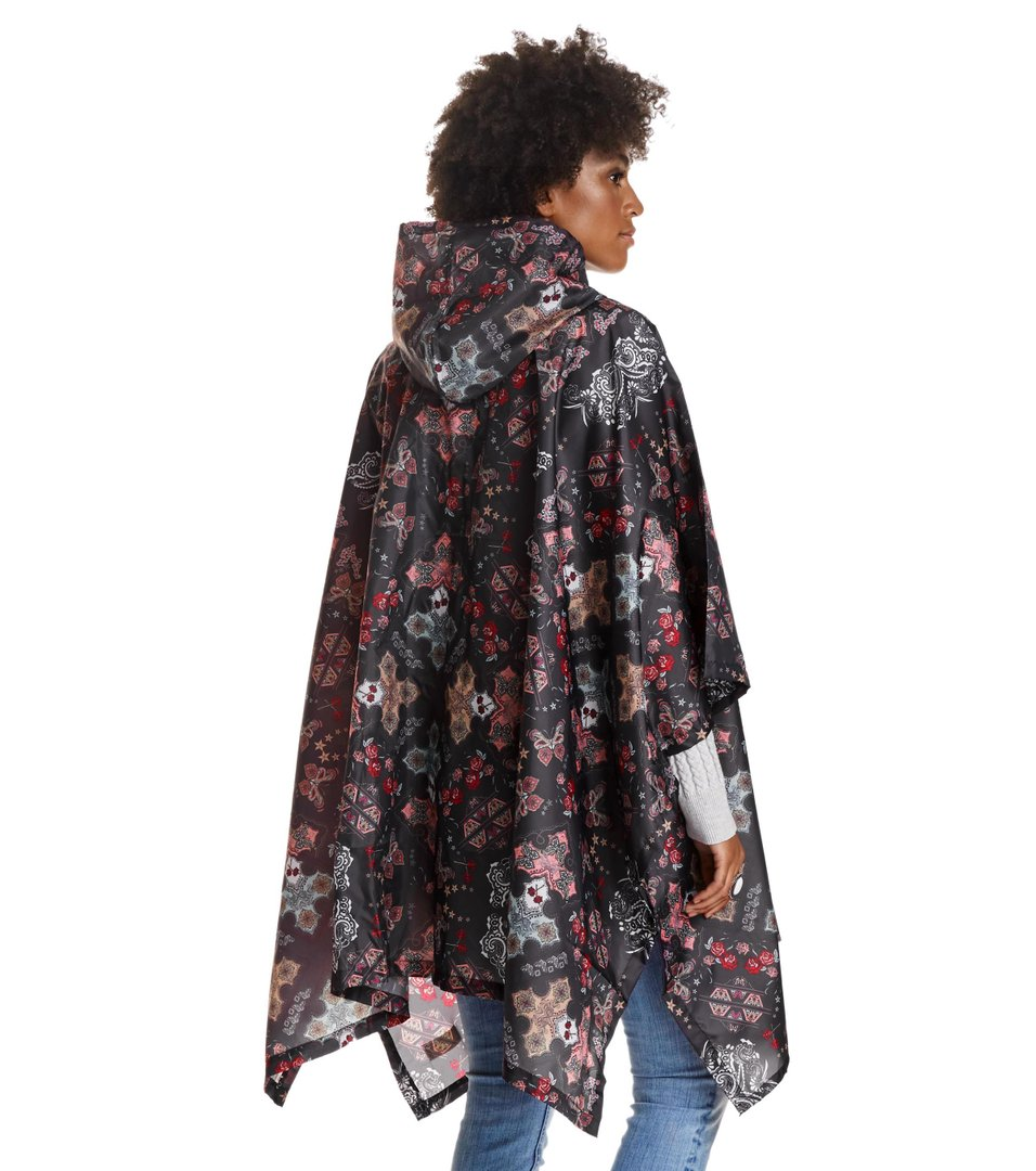 Monsoon Printed Rainponcho