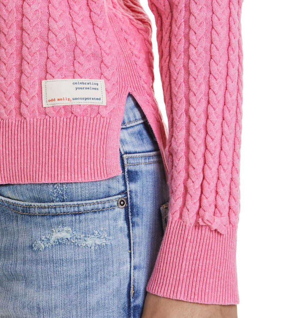 ribbey sweater